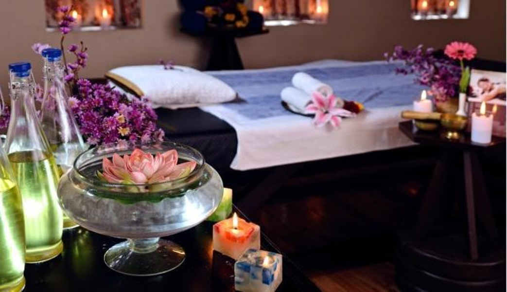 The spa at the Tranquil Resort And Spa In Gangtok