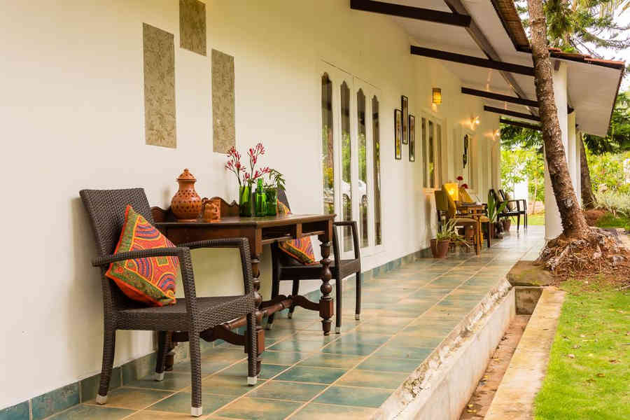 Verandah at the Boutique Stay Near Bandipur National Park