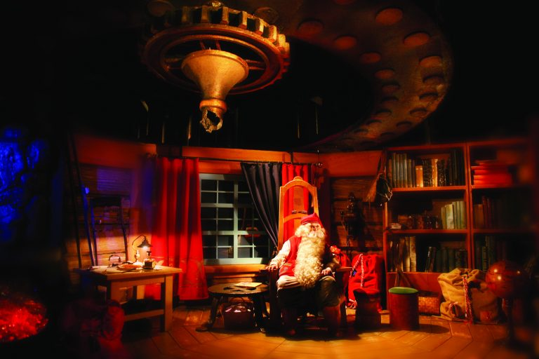 Meet Santa Claus at his Office