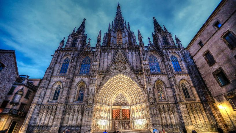 Spain Barcelona Architecture Art Cathedral Gothic
