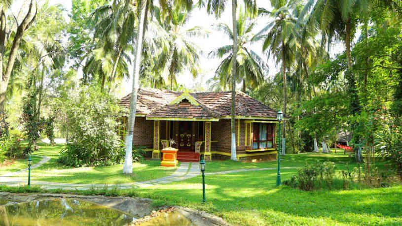 Maharaja Suite at the Ayurvedic Retreat in Palakkad
